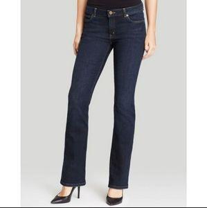 EUC Michael Kors Dark Bootcut Jeans